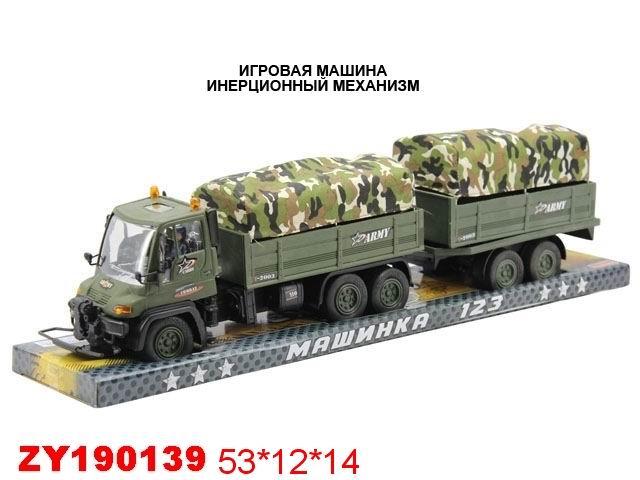 """Машинка с инерционным механизмом """"Военная машина"""" ZYK 1087-9"""