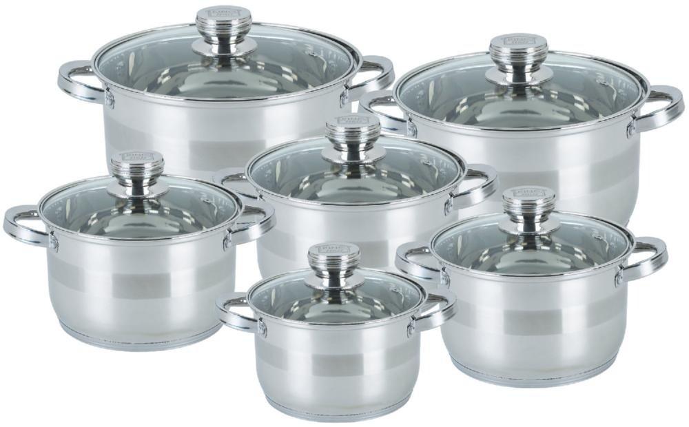 Набор посуды KINGHoff KH-4486, 12 предметов