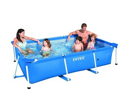 Каркасный бассейн Intex 28271 Rectangular Frame Pool 260х160х65 см .