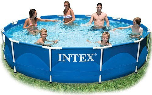 Каркасный бассейн Intex 28210 Metal Frame Pool 366*76 см.