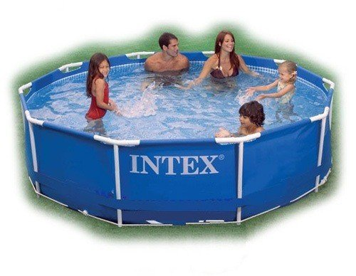 Каркасный бассейн Intex 28200/56997 Metal Frame Pool 305*76 см.